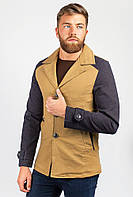 Куртка мужская стильная  19PG042 (Горчичный)