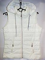 Женская жилетка на синтепоне (42-48, норма) — купить оптом по низкой цене со склада в одессе 7км , фото 1