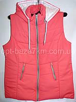 Женская жилетка длинная (50-58,батал) — купить оптом по низкой цене со склада в одессе 7км
