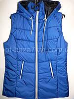 Женская жилетка короткая (50-58,батал) — купить оптом по низкой цене со склада в одессе 7км , фото 1