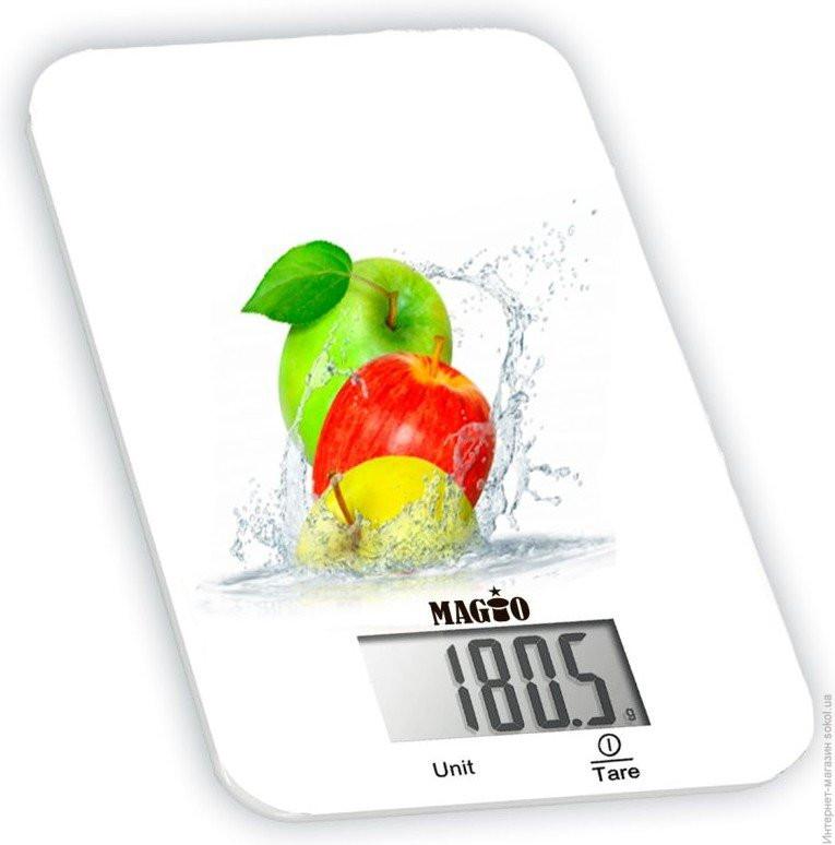 Весы кухонные Magio MG-296 яблоко - Оптом 24 в Одессе