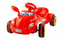 Машина педальная Молния № 09-903 красная ZMV