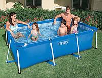 Каркасный бассейн Intex 28271 Rectangular Frame 160х260х65 см
