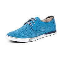 Мужские летние туфли Mida 13329 (328) н мави