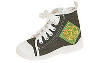 Детская текстильная обувь Zetpol Blazer сір