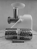 Электромясорубка Помощница-33 (3 насадки) и реверс