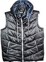 Мужская жилетка на синтепоне (46-52, норма) — купить по низкой цене оптом от производителя в одессе 7км , фото 1