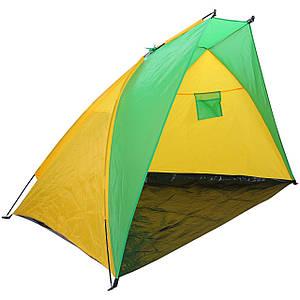 Палатка Пляжная BT002 жёлто-зеленый