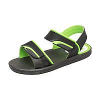 Детская пляжная обувь Calypso 0151-001 чер/зел