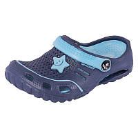 Детская пляжная обувь Calypso 7364-001 син