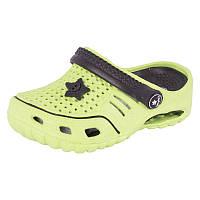 Детская пляжная обувь Calypso 7364-004 зел/чер
