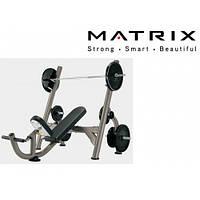 Matrix G3-FW11B (G3-FW14) наклонная скамья для жима