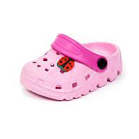 Детская пляжная обувь шалунишка LW 819-2 роз