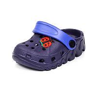 Детская пляжная обувь шалунишка LW 819-2 син ч