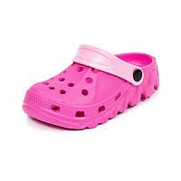 Детская пляжная обувь шалунишка LW 819-3 роз