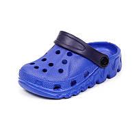 Детская пляжная обувь шалунишка LW 819-3 син ч