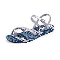 Женская пляжная обувь IPANEMA 81929-21345 сріб-син