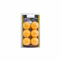 Набор мячей для настольного тенниса Enebe 6 BALLS NB MATCH ORANGE 40MM