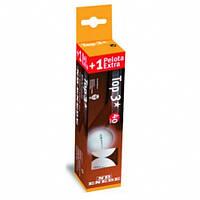 Набор мячей для настольного тенниса Enebe Caja 3+1 Pelotas NB Top 3* Blanco 40 мм
