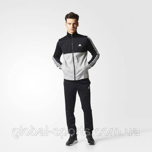 7f198e42699a Мужской спортивный костюм Adidas Back 2 Basics 3-Stripes(Артикул BP9216) -