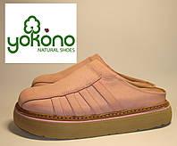Шлепанцы женские кожаные Yokono (031) 36р.