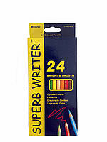 "Цветные карандаши ""Marco"" 24 цвета"