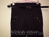 Детские брюки черные для девочек Размеры 104-110-116-122, фото 3
