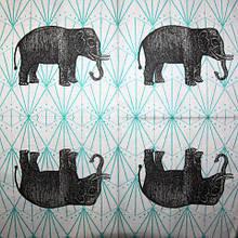 Салфетка декупажная Слон 3360