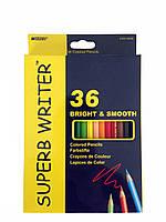 """Цветные карандаши """"Marco"""" 36 цветов"""