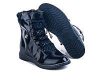 Подростковые осенние ботинки для девочек от GFB 1108-2 (8пар, 31-36)