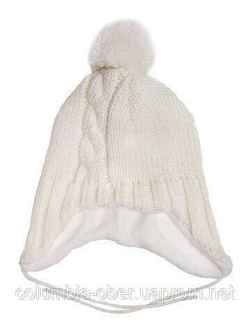 Зимняя шапка для девочки Lenne JENO 17379 -100. Размеры 46.