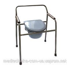 Стул - туалет MEDOK стальной, MED-4107