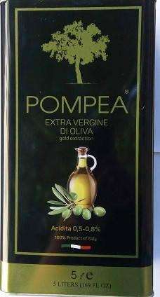 Оливковое масло Pompea Extra Vergine di Oliva, 5 л (Италия), фото 2