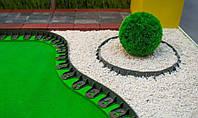 Бордюр пластмасовый тротуарный h 4,5 см (1000 мм), фото 1