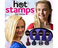 Набор Hot stamps для волос NZ
