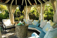 Тканевые шторы для веранды, террасы, фото 3