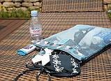 Жіноча пляжна сумка (Блакитна) / Жіноча пляжна Сумка (Блакитна), фото 2