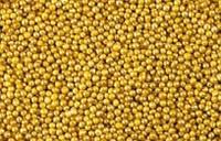 Сахарные бусинки золото 3 мм.