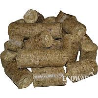 Топливные брикеты Nestro из Соломы в п/п мешке по 40 кг за 1 тонну