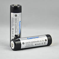 Аккумулятор Keeppower 18650 2200 mAh для шокера, шокеров, электрошокеров, фонарика