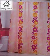 Шторка для ванной комнаты Miranda (Flower path)