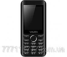 """Мобильный телефон   Viaan V241 Black  черный (2SIM) 2,4"""" 0,032/0,032 GB+SD 0.3 МП  оригинал Гарантия!"""