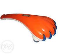 Ручной вибромассажер для тела Tiger Paw Лапа Тигра SL-8828 большой с двойными насадками CX