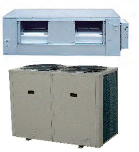 Сплит-система канального типа Neoclima NDS/NU-120AH3me