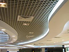Монтаж подвесных потолков от 100м2