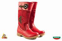 Bulgaria Красные высокие Girl boots