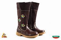 Bulgaria Коричневые высокие Girl boots