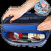 Двойной дорожный органайзер для белья ORGANIZE(синий)