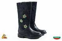 Bulgaria Черные высокие Girl boots