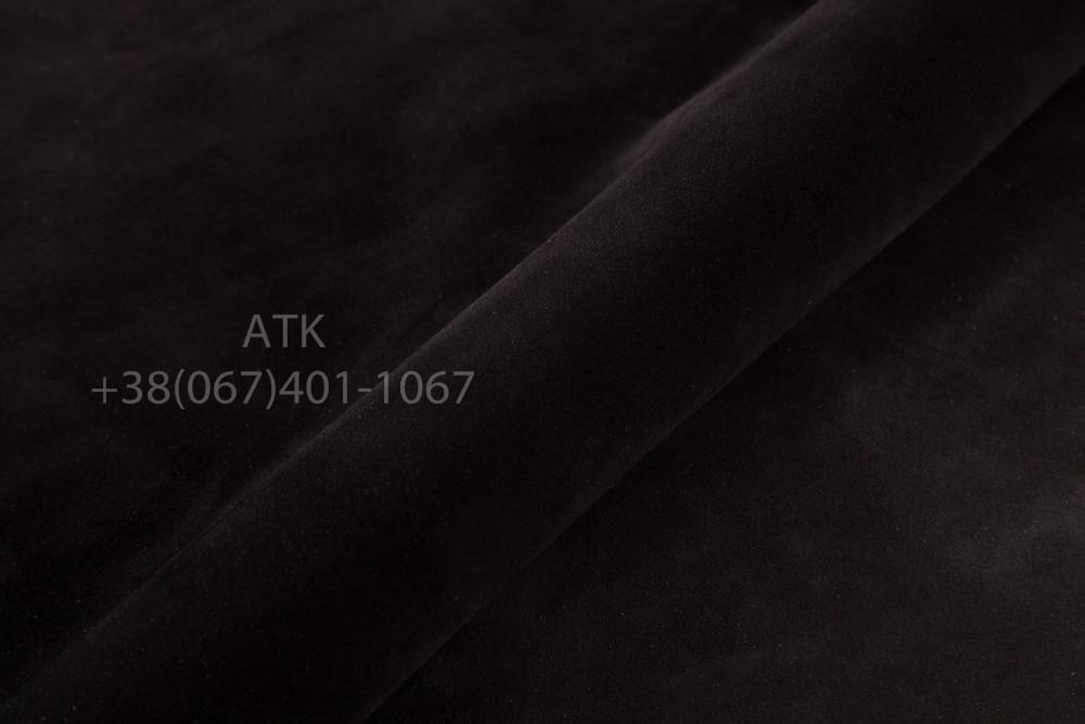 Спилок-велюр черный